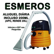 2 Diárias Aluguel Extratora Carpet Cleaner + 1 Diluição