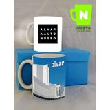 Alvar Aalto Arquitecto Taza Ideal Regalo Caja Forrada