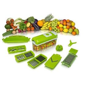 Cortador De Legumes Para Vegetais+frutas Espiral -- Picado.