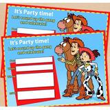 Cumpleaños Toy Story Deco Impresa Y Recortada