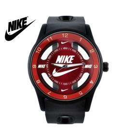 Relógio Nike Rubber Vermelho Black