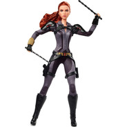Barbie Black Widow Preto Viuva Negra Marvel Collector Editio