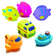 Juguete De Agua Bebé Playgro Ocean Friends Squirtees