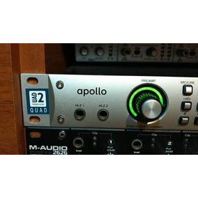 Interface Universal Audio Apollo Uad2 Quad Thunderbolt/firew