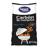 Carbón De Mezquite Great Value 3 Kg 2 Pack
