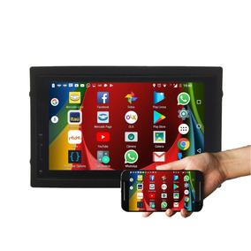 Kit Central Multimídia Tiida Espelha Moto G Bluetooth Gps Sd