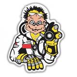 Adesivo Valentino Rossi Moto Capacete Personalizado (60)