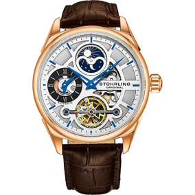 3c4251e9869 Relógio Stuhrling Skeleton Automático - - Relógios De Pulso no ...