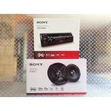 Auto Estereo Sony Cdx-g1200u Usb Cd Mp3 Aux Con Bocinas 6.5