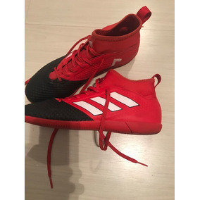Chuteira Infantil Adidas Ace Vermelha - Chuteiras para Futsal no ... 7a8665ee2aa71