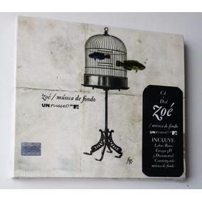 Zoé Música De Fondo Mtv Unplugged Deluxe Zoe Cd Dvd +1 Bonus