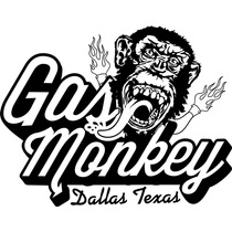 Adesivo Parede Gas Monkey + Frete Grátis
