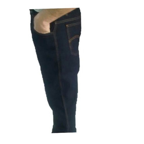 Calça Jeans Masculina Tradicional Azul Preto / Barato