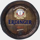 Barril Decorativo Grande Em Fibra - Erdinger Cerveja
