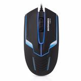 Mouse Gamer Micronics Lighter Usb Negro