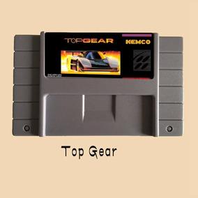 Top Gear 1 Snes Super Nintendo