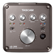 Interface De Audio Usb Tascam Us366 Midi