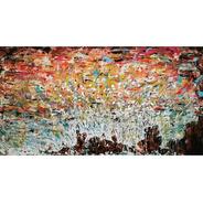Cuadro Cazart Original Abstracto Pintado A Mano Costa