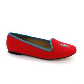 Balerina Para Niña Polo Ralph Lauren 0003na-042545 Color Roj