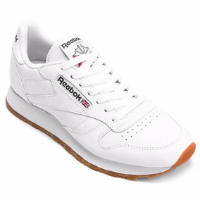 Tenis Reebok Classic Leather Masculino Branco