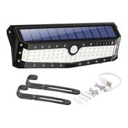 Reflector Solar 79 Led Luz Ext Int Sensor Panel Farol Ahorro