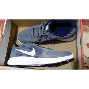 Tenis Nike. Gris. Correr O Entrenamiento. Nuevo.