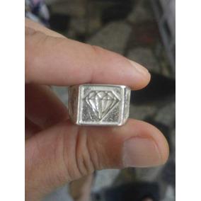 Anel De Prata 925 Dedeira Diamante Masculino