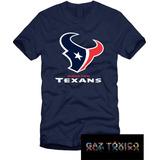Playera Houston Texans Nfl Manga Corta