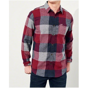 Camisa Masculina Hollister Importada Pp Frete Gratis Xadrez