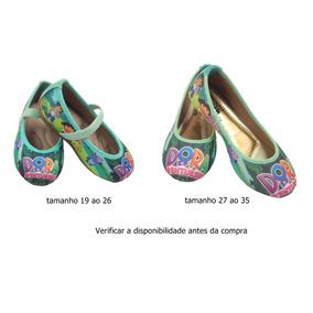 Sapatilha Dora Aventureira Festa Infantil Tematico