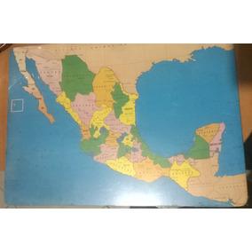 Rompecabezas Republica Mexicana Educativo