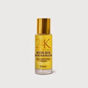 24k Gold Progress Argan Dry Oil Spray For Hair Body Face Wit