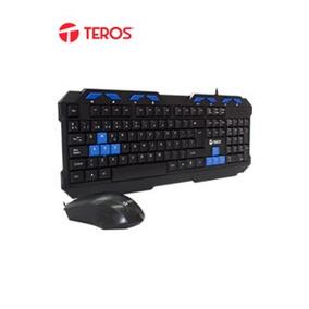 Te Kit Teclado Y Mouse Gamer Teros Te-539, Multimedia/intern