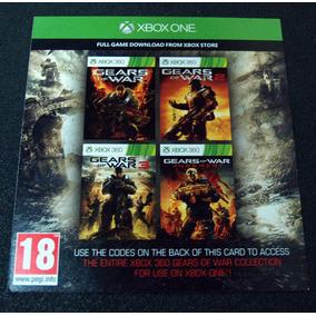 Voucher Gears Of War 1 2 3 Judgement Xbox One 360
