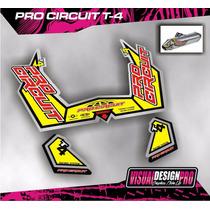 Calcos Gráfica Escape Pro Circuit T4 Excelente!!!!