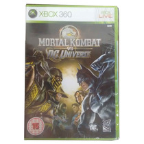 Mortal Kombat Vs Dc Universe Xbox 360 Mídia Lacrado Região2