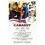 Poster (28 X 43 Cm) Cabaret (broadway)