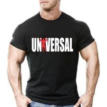 Camisa Camiseta Universal Masculina Musculação Academia Top