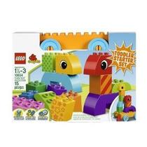 2 X Lego Duplo Creativo Juego Del Niño Build And Pull Junto