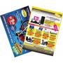 2.500 Panfletos/flyers - 10x15 Cm - 4x4 -90gr - Arte Grátis