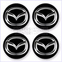 Juego De Tapacubos Mazda - Articulos Laminado Para Vehículos