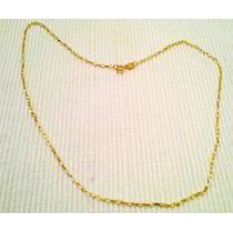 Cadena Eslabon Alargado Vanesa Duran Oro Gold Filled 50cm