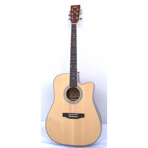 Guitarra Texana Electroacústica S101 Con Fishman Y Funda