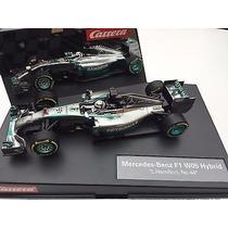 Auto Slot Carrera Mercedes F1 Hamilton Scalextric 1/32