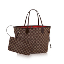 Bolsa Original Neverfull Mm Canvas Damier Oportunidade