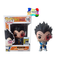 Vegeta Super Saiyan Dios Funko Pop Anime Esferas Dragon Cf
