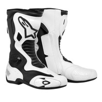 Bota Pista Velocidad Alpinestars Smx 5 Blanca-negra Moto Sur