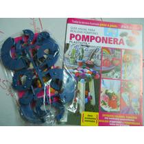 Pomponera + Revista!! Para Muñecos Y Muchas Cosas Más!