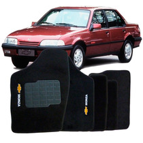 Tapete Carpete Monza Tubarão Preto 91 92 93 94 95 96 C/ Logo