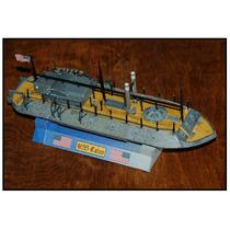 Barco De Guerra Uss Cairo (modelos De Papel Para Armar)